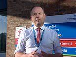 NHS England boss Sir Simon Stevens says person admitted to hospital every 30 seconds with Covid