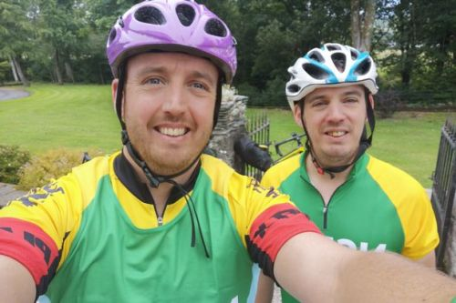 Drymen brothers complete 300km 30-hour cycle challenge for charity