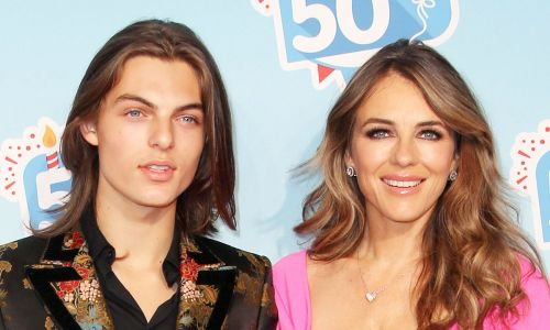 Elizabeth Hurley's son Damian Hurley looks INCREDIBLE in his first modelling campaign