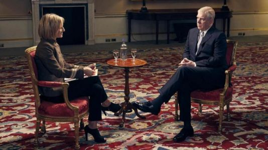 Prince Andrew's aides 'pleased' with car crash interview, BBC presenter claims