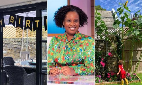 Loose Women's Charlene White's stunning home is every family's dream