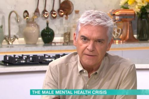 Phil Schofield close to tears as he opens up about secret mental health struggle
