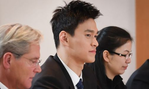Sun Yang: Chinese Olympic swimming champion banned for eight years after missing doping test