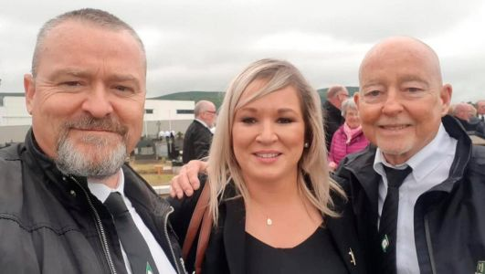 If Michelle O'Neill had any sense, she would take Arlene Foster's advice and offer a profuse apology, but don't hold your breath