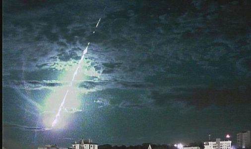 WATCH as fireball travelling at 75,000mph EXPLODES over Brazil