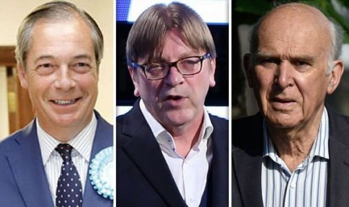 Guy Verhofstadt IGNORES Brexit Party's huge success but congratulates Liberal Democrats