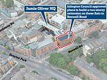 Jamie Oliver loses battle to stop six new homes being built next to his London HQ