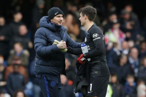 Frank Lampard 'impressed by Kepa's response to losing his place'