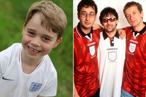 Prince George listens to Three Lions football anthem every morning when he wakes up