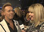 Dancing On Ice's Ian 'H' Watkins thinks pro partner Matt Evers is 'handsome'