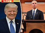 'That speech was ridiculous': Donald Trump slams Barack Obama's eulogy for John Lewis