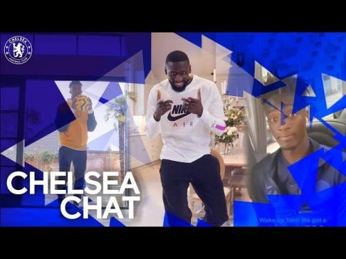 : Chelsea players show off their skills in fake group chat