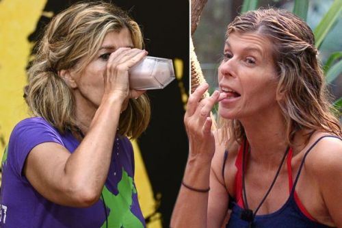 I'm a Celeb's Kate Garraway confesses which drink gets her feeling frisky