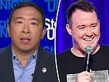 Andrew Yang: It 'hurts' SNL hire made Asian jokes but it shouldn't be taken too seriously