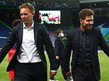 Leipzig boss Julian Nagelsmann admits he clashed with Diego Simeone during win over Atletico Madrid