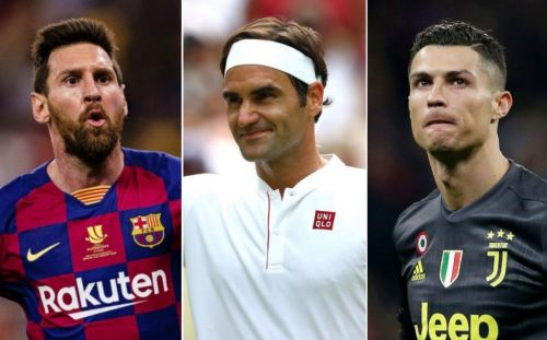 Roger Federer pips Lionel Messi and Cristiano Ronaldo to world's highest paid athlete