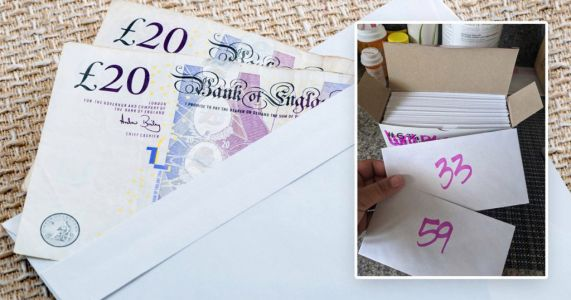 How the 2020 Envelope Challenge could help you save £5,050 in six months