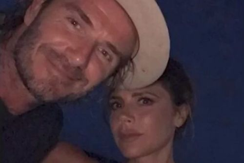 David Beckham remembers first time he ever saw Victoria on their anniversary
