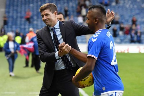 Alfredo Morelos sends defiant Rangers message as loves Steven Gerrard