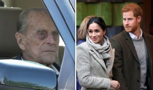 Prince Philip was 'driven away from Sandringham' before big Megxit talks