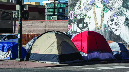 """""""I feel very alone"""": Covid-19's impact on Denver's homeless people"""