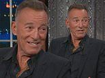 Bruce Springsteen calls political landscape 'harrowing' on special Late Night With Stephen Colbert