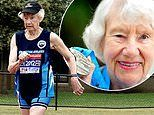 This 93-year-old is determined to walk 300km by March 31 for cancer research, despite coronavirus