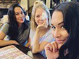 Nikki and Brie Bella enjoy second 'amazing visit' with mother as she recovers from brain surgery
