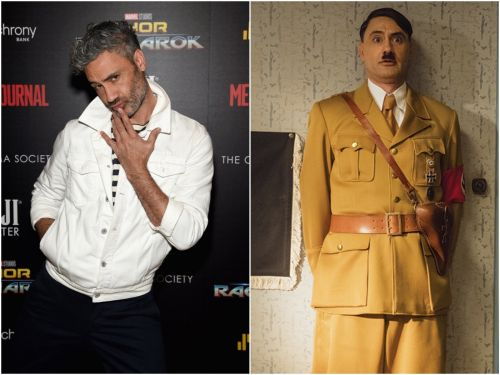 The 'Jojo Rabbit' cinematographer said it 'felt strange' being directed by Taika Waititi dressed as Adolf Hitler, but he was still as 'goofy as possible'