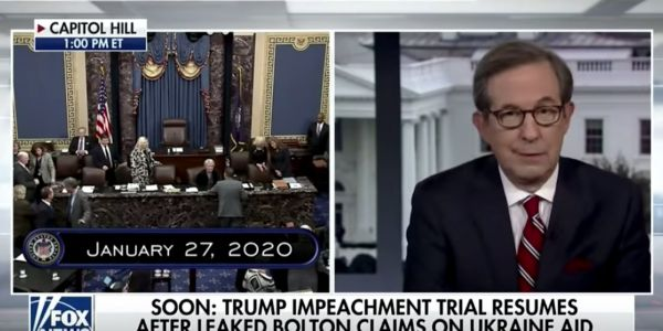 Fox News anchor Chris Wallace tells conservative commentator to get her 'facts straight' in heated exchange on impeachment witnesses