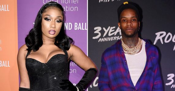 Megan Thee Stallion was 'shot by Tory Lanez as she tried to leave' after dispute in car