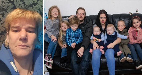 Mum says son-in-law who started GoFundMe to feed seven kids is 'feckless liar'