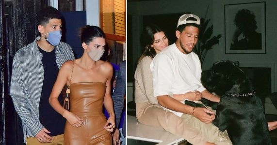 Kendall Jenner and boyfriend Devin Booker mark one year anniversary with sweet messages