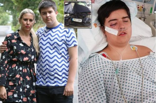 Schoolboy critically injured in horror crash saved after family's BMW dials 999