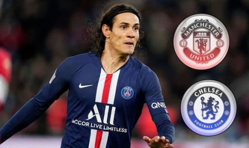 Man Utd and Chelsea boosted in Edinson Cavani transfer chase despite Atletico interest