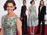 Katie Holmes is pretty in floral frock as Misty Copeland and Olivia Palermo dare to bare at NYC gala