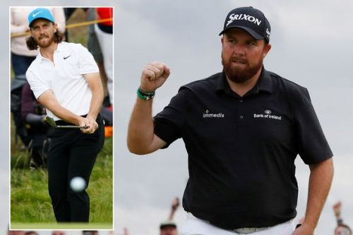 Shane Lowry takes four-shot lead into last day of The Open after shooting course record 63