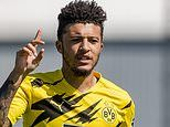 Jadon Sancho and Manchester United 'agree terms on a five-year contract worth £340,000 per week'