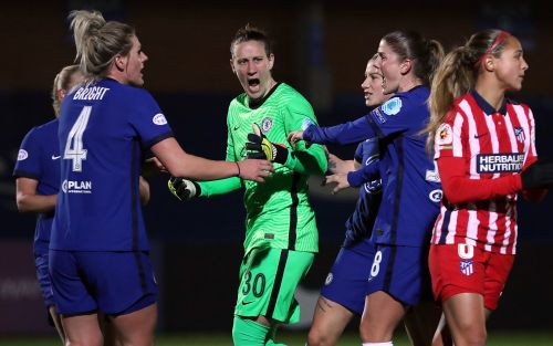Chelsea Women down to 10 and concede two penalties - but still beatAtletico Madrid in Champions League last 16