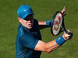 Kyle Edmund insists he is not looking ahead to Wimbledon as he eyes Queen's title