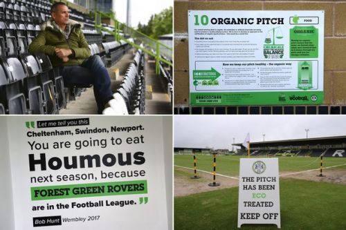 Inside Forest Green Rovers: Vegan burgers, solar panels and shirts made with bamboo