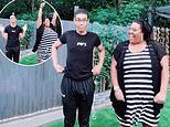 Alison Hammond's rarely seen son Aidan looks mortified as This Morning presenter mum makes him dance with her