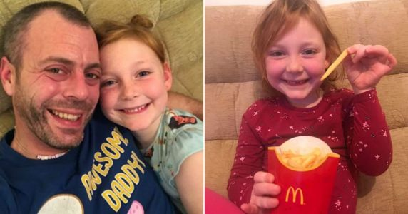 Dad uses McDonald's packaging in genius hack to make homemade Happy Meals for his daughter