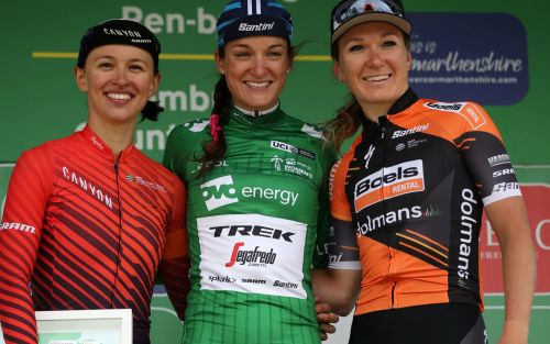 Lizzie Deignan says she shocked herself with Women's Tour win two month's after returning to competitive action