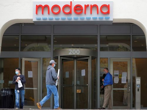Moderna falls 20% amid reports that insiders have sold $89 million in shares this year as the stock has spiked