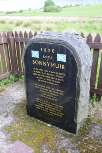 New book by Huntly writer highlights the Scottish Radical Rising of 1820