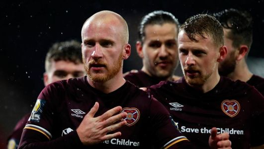 Liam Boyce: Penalty heroics for Northern Ireland gave me confidence to send Hearts into Scottish Cup final
