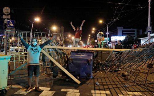 One man killed in second night of protests over disputed Belarus election result