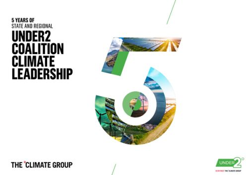 The Under2 Coalition celebrates five years of driving climate leadership