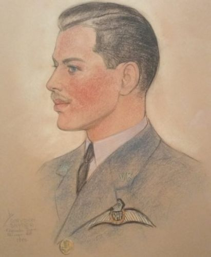 Appeal launched to solve mystery of RAF pilot who appears in artwork